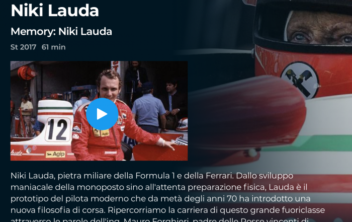 documentario Niki Lauda